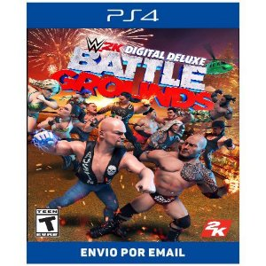 WWE 2K Battlegrounds - Ps4 Digital