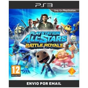 Playstation All Star Battle Royale - Ps3 Digial