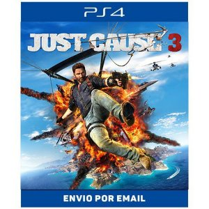 Just Cause 3 - Ps4 e Ps5 Digital