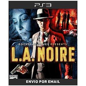 LA Noire - Ps3 Digital