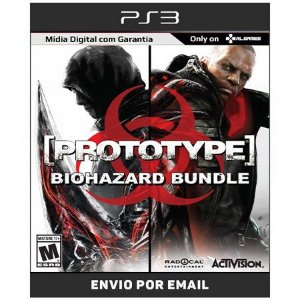 Prototype 1 + Prototype 2 + Dlcs Biohazard Bundle - Ps3 Digital