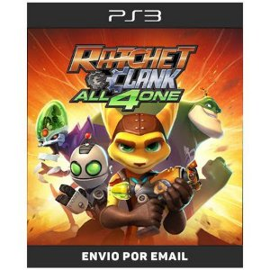 Ratchet And Clank All For 4 One - Ps3 Digital