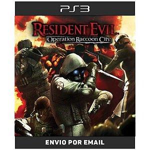 Resident Evil Operation Raccon City - Ps3  Digital