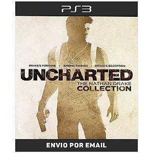 Uncharted Trilogia - 3 Jogos - Ps3  Digital