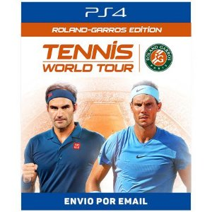 Tennis World Tour: Roland-Garros Edition - Ps4 Digital