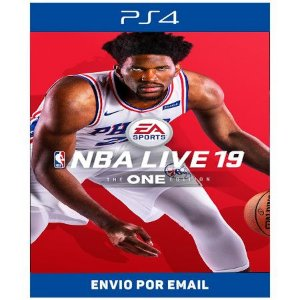 NBA LIVE 19: THE ONE EDITION - Ps4 Digital