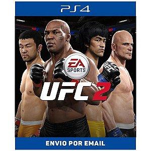 Conjunto completo do EA SPORTS UFC 2 - Ps4 Digital