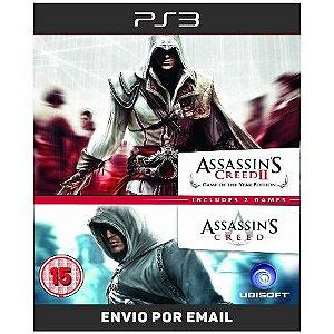 Assassins Creed 1 E 2 - Ps3 Digital