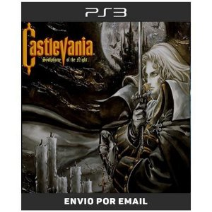 Castlevania Simphony Of The Night - Clássico De Ps1 - Ps3 Digital