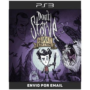 Dont Starve Giant Edition - Ps3 Digital