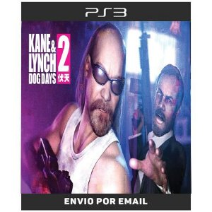 Kane e Lynch 2 Dogs Days - Ps3 Digital