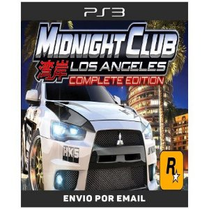 Midnight Club Los Angeles Complete Edition - Ps3 Digital