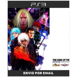 The King Of Fighters The Nests Saga kof 99 2000 2001 - Ps3 Digital
