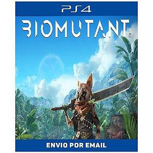 Biomutant - Ps4 e Ps5 Digital