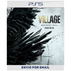 Resident Evil Village Versão Deluxe - PS4 & PS5 Digital