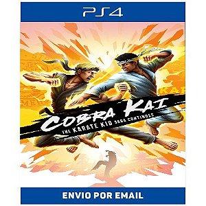 Cobra Kai The Karate Kid Saga Continues - Ps4 Digital