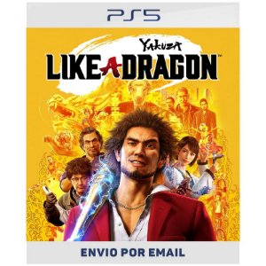 Yakuza Like a Dragon - PS4 & PS5 Digital