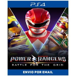 Power Rangers Battle For The Grid - Ps4 Digitl