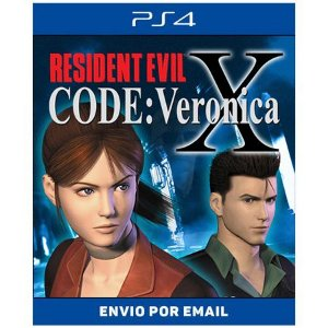 Resident Evil Code Veronica X - Ps4 Digital