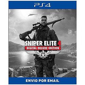 Sniper Elite 4 Deluxe Edition -  Ps4 e Ps5 Digital