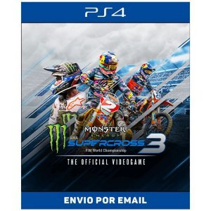 Monster Energy Supercross The Official Videogame 3 - Ps4 Digital