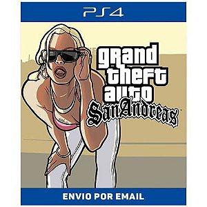 Grand Theft Auto GTA San Andreas - Ps4 Digital