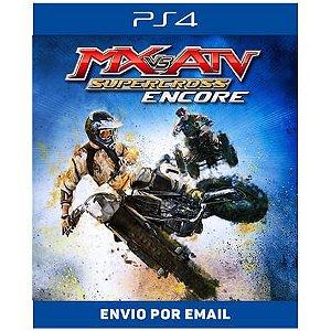 MX vs. ATV Supercross Encore - Ps4 Digital