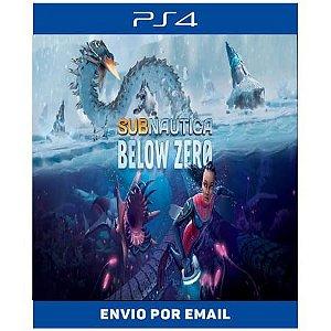 Subnautica Below Zero - Ps4 e Ps5 Digital