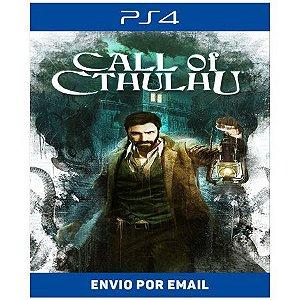 Call of Cthulhu - Ps4 Digital