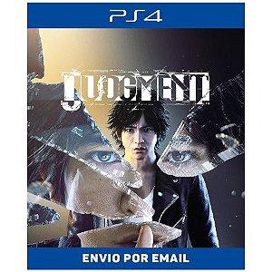 Judgment - Ps4 Digital