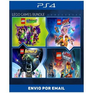 Conjunto de Jogos LEGO - Ps4 e Ps5 Digital