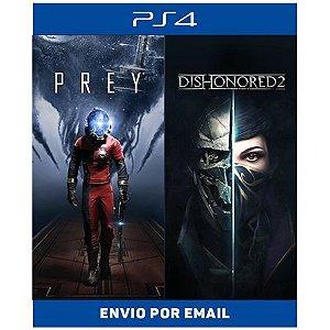 Prey + Dishonored 2 Bundle - Ps4 Digital
