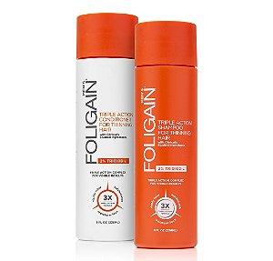 Shampoo Foligain com 2% de Trixidil + Condicionador Foligain com 2% de Trioxidil