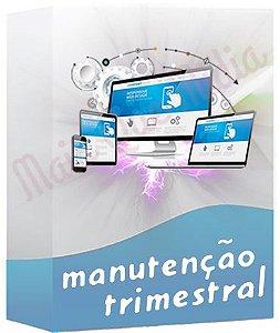 Manutenção de WebSite Trimestral