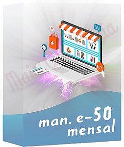 Manutenção de E-commerce 50 Mensal