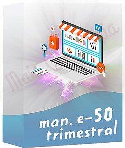Manutenção de E-commerce 50 Trimestral