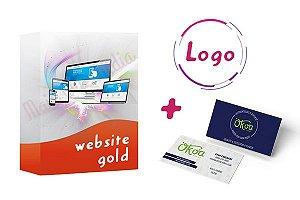 Site + Logo + Cartão De Visitas