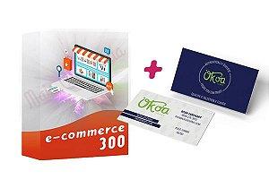 E-commerce 300 + Cartão de Visitas