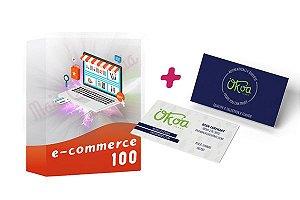E-commerce 100 + Cartão de Visitas