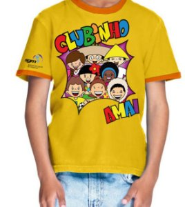 Clubinho AMAI - Camiseta infantil