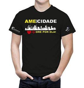 Ame sua cidade - Camiseta preta