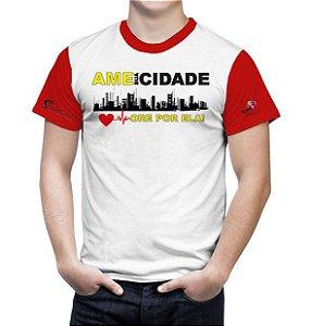 Ame sua Cidade -Camiseta branca