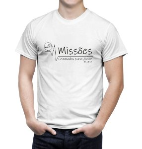 """""""Chamados Para Amar"""" Camiseta Branca"""