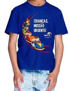 Crianças, Missão Urgente, Camiseta Infantil