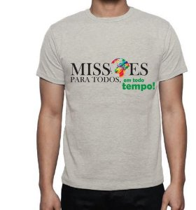 Missões Para Todos - Camiseta Bege