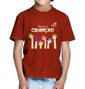 """""""Alcance as Crianças"""" - Camiseta infantil"""