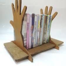 Porta livro ou dvd, modelo mão !!! Mdf6mm