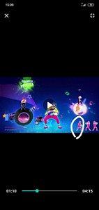 Luminária Abajur Super Led Just Dance