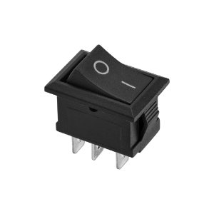 Chave KCD1-102 3 Terminais ON/OFF (Preto)