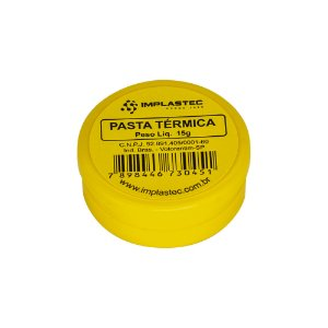 Pasta Térmica Implastec 15g